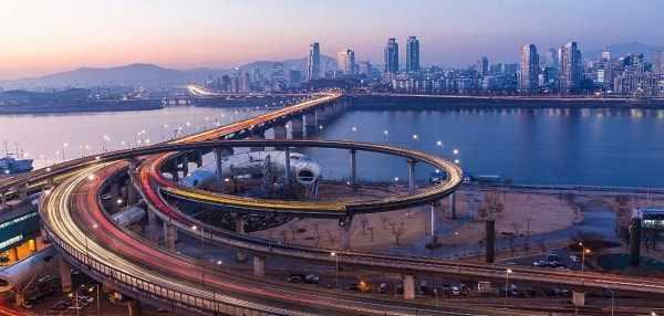 Южнокорейский мост