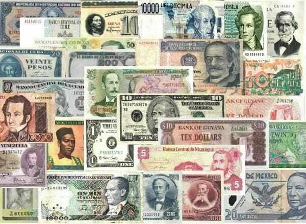 Валюты стран мира