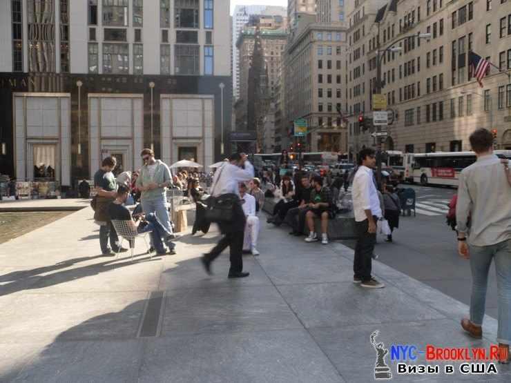 39. Магазин Apple Store в Нью-Йорке, на 5th Avenue - NYC-Brooklyn