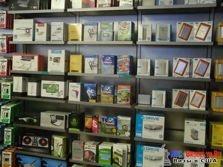24. Магазин Apple Store в Нью-Йорке, на 5th Avenue - NYC-Brooklyn