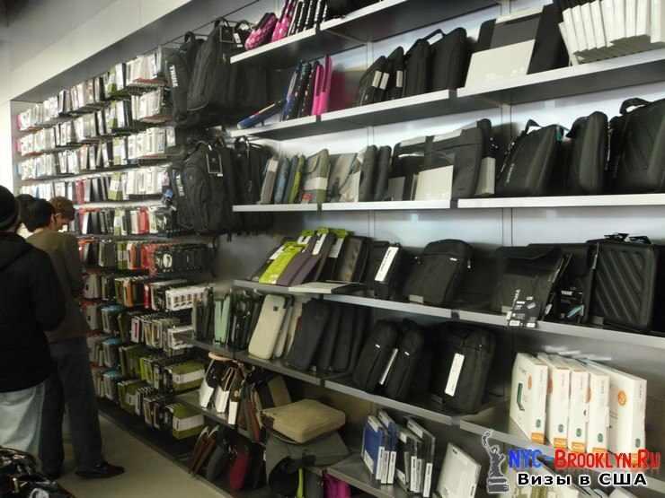 16. Магазин Apple Store в Нью-Йорке, на 5th Avenue - NYC-Brooklyn
