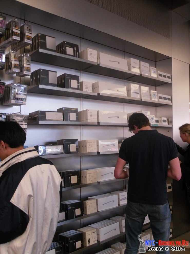 21. Магазин Apple Store в Нью-Йорке, на 5th Avenue - NYC-Brooklyn
