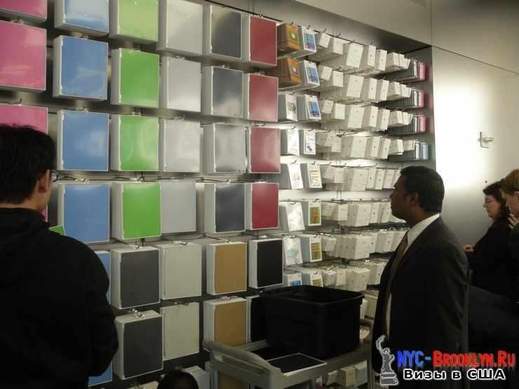 25. Магазин Apple Store в Нью-Йорке, на 5th Avenue - NYC-Brooklyn
