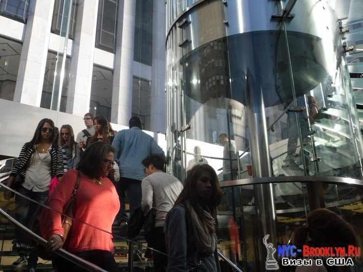 31. Магазин Apple Store в Нью-Йорке, на 5th Avenue - NYC-Brooklyn