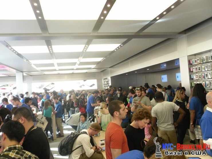 18. Магазин Apple Store в Нью-Йорке, на 5th Avenue - NYC-Brooklyn