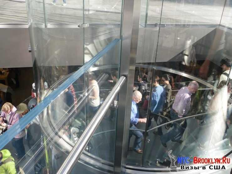 7. Магазин Apple Store в Нью-Йорке, на 5th Avenue - NYC-Brooklyn