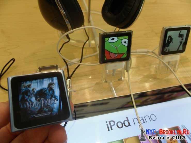 28. Магазин Apple Store в Нью-Йорке, на 5th Avenue - NYC-Brooklyn
