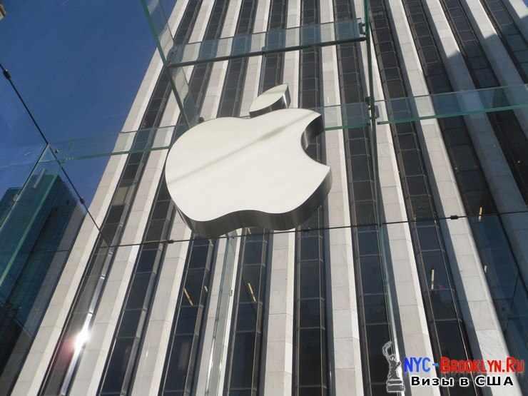 36. Магазин Apple Store в Нью-Йорке, на 5th Avenue - NYC-Brooklyn