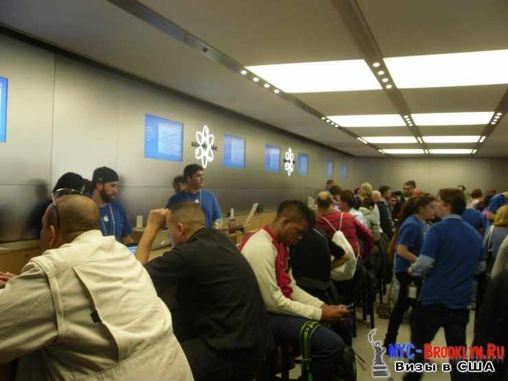 22. Магазин Apple Store в Нью-Йорке, на 5th Avenue - NYC-Brooklyn