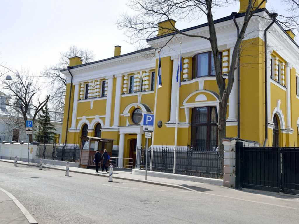 Здание посольства Эстонии