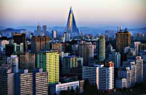 Пхеньян, столица КНДР