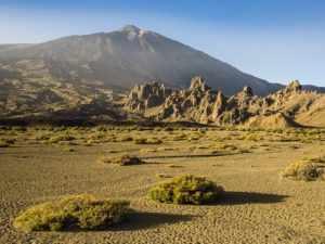 вулкан Вулкан Тейде на острове Тенерифе - одна из самых высоких точек Испании