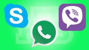 Skype, Viber и WhatsApp для путешествий