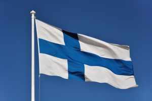 Государственный флаг Финляндии