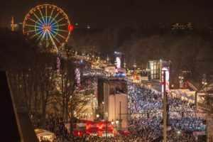 Новый год в Германии, Берлин