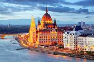 путешествие в Венгрию, Будапешт
