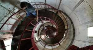 Сухумский маяк в Абхазии