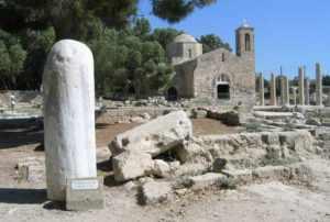 колонна св. Павла, Пафос