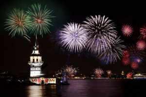 Новый год в Стамбуле.
