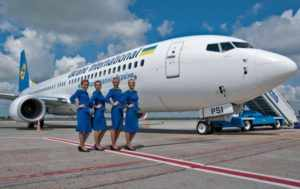 UIA – украинские авиалинии.