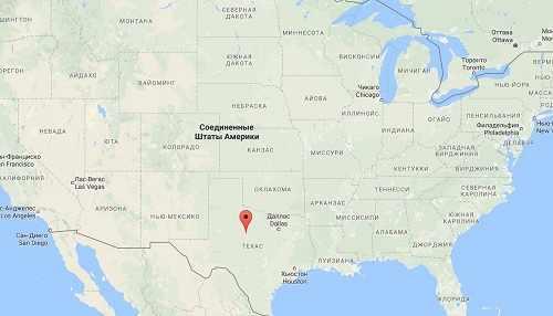 абилин на карте