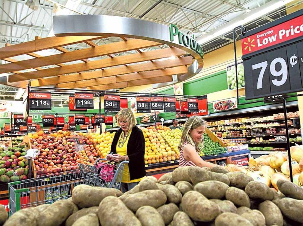 Стоимость продуктов в США
