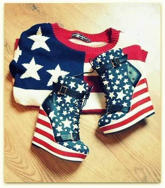 Одежда и обувь в США