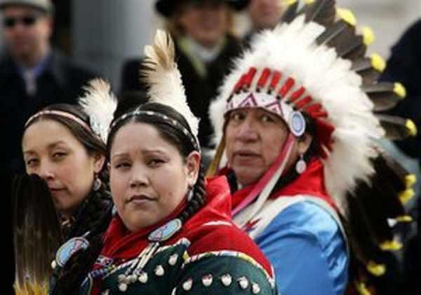 Индейцы в Америке