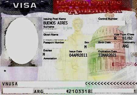 неиммиграционная виза США